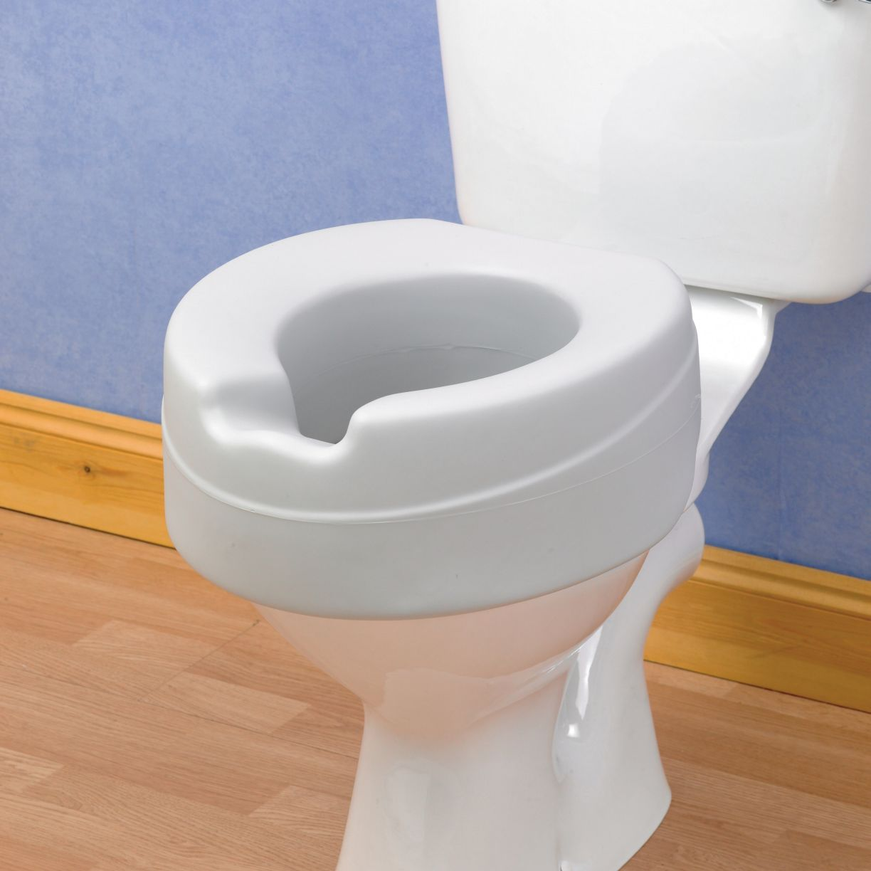 raised toilet seat comfyfoam the mobility centre. Black Bedroom Furniture Sets. Home Design Ideas