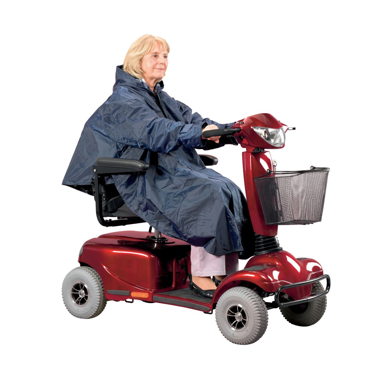 Scooter Clothing Poncho Lined The Mobility Centre
